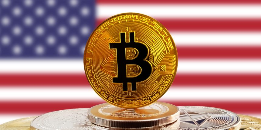 Bitcoin value remains close to $5,600 USD, while the US actions stay up