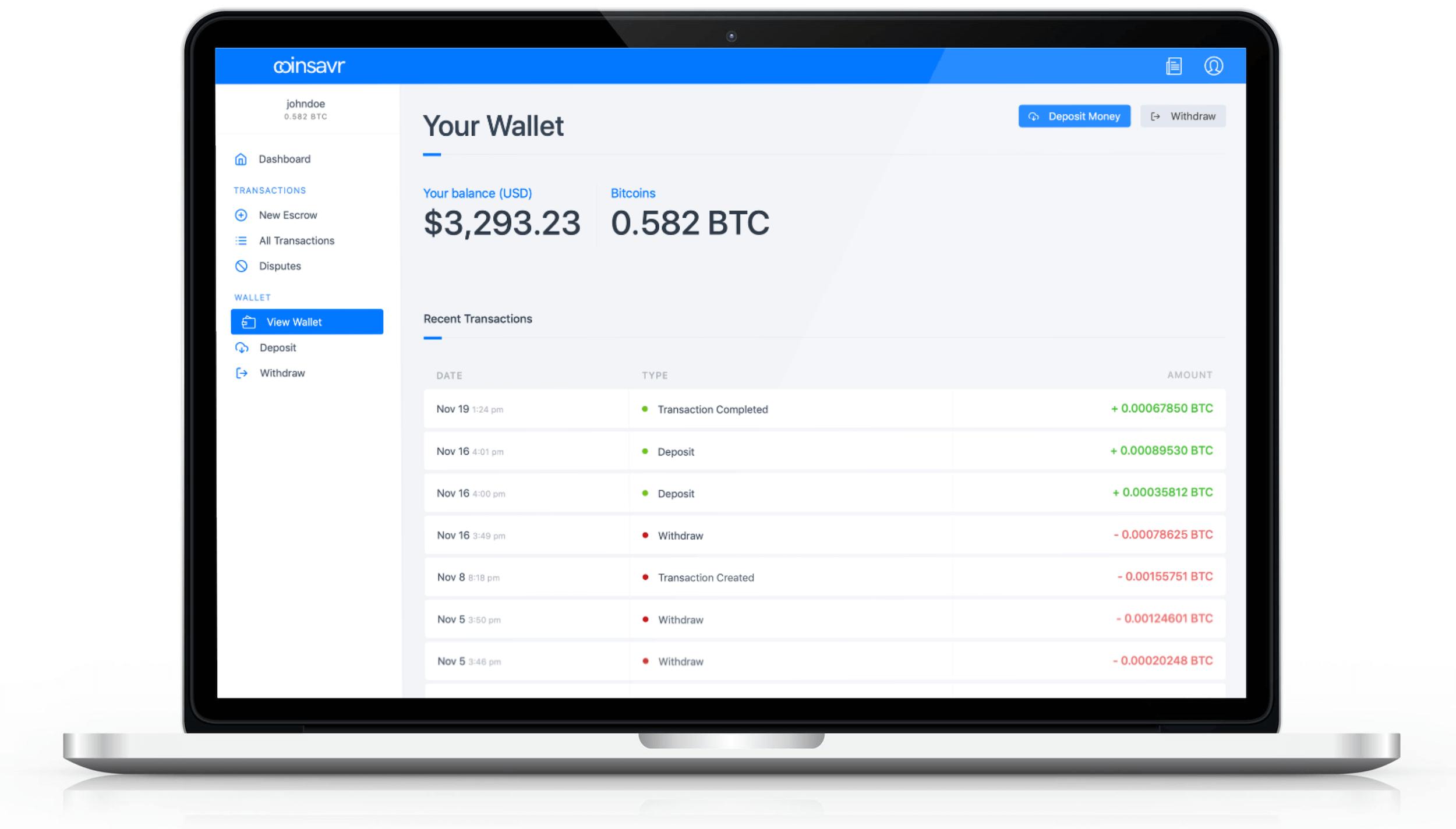 bitcoin marketplace escrow scenarijus